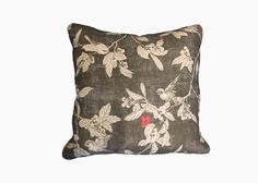 CRY OF THE CUCKOO!    The Cry of the Cuckoo! pillow in cloud