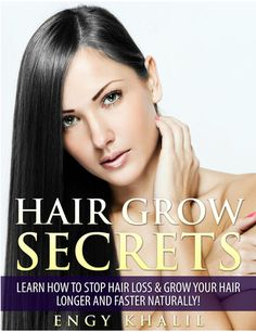 Hair Growth Secrets eBook: teaches you NATURAL techniques and remedies that foster healthy hair growth and prevent hair loss Growing Long Hair Faster, Grow Long Hair, Quick Hair Growth, Hair Growth Tips, Hair Remedies For Growth, Hair Loss Remedies, Make Hair Grow, Long Hair Tips, Hair Secrets