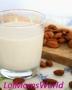 Homemade almond milk is the best! Any nut milk in fact! Make Almond Milk, Almond Milk Recipes, Homemade Almond Milk, Raw Food Recipes, Almond Pulp, Almond Benefits, Food Substitutions, Raw Almonds, Soaked Almonds