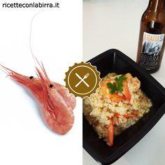 Risotto con mazzancolle e birra Gaita - #Ricetteconlabirra