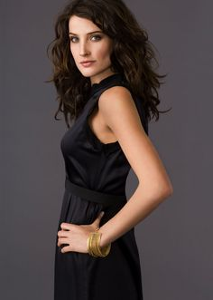 Cobie Smulders - Love her. Love this hair style!