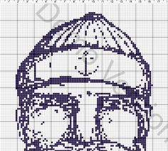 cross stitch sailor