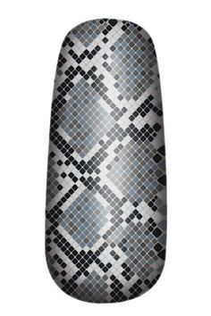 #OPI's New Nail Polish Strips: Blue and Gray Rattlesnake news.instyle.com/...