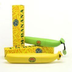 Творческий банан карандаш зонтик мини ультра легкий дождь солнце анти уф 3 складной Parapluie женщина дети мешок, принадлежащий категории Зонты и относящийся к Для дома и сада на сайте AliExpress.com | Alibaba Group