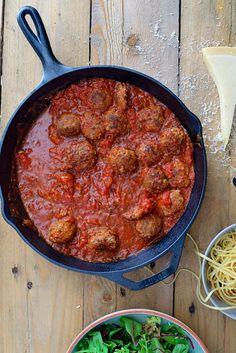 Spaghetti met gehaktballen (8)