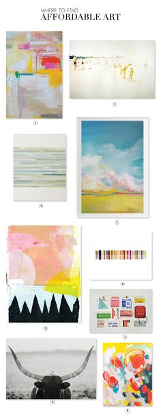 Great resource for affordable art  /  aliceandlois.com