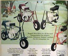 1969 Sears 2 Speed Mini Bike Mini Bike Diy Go Kart