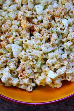 Sharing an Old Fashioned Macaroni Salad recipe - absolutely a family favorite for so many years. Best macaroni salad for barbecues. Pasta Recipes, Cooking Recipes, Healthy Recipes, Best Macaroni Salad, Macaroni Salads, Southern Macaroni Salad, Creamy Macaroni Salad, Classic Macaroni Salad, Amish Macaroni Salad