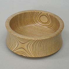 Paavo Asikainen, Finland description: A characteristically Finnish design of turned, laminated plywood, in the manner of Tapio Wirkkala's well known bowls/sculptures. A simple but visually complex art piece, it is not meant for household use or...