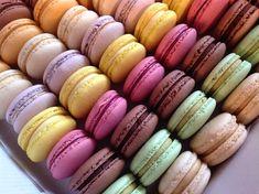 Makronky - náplně z bílé čokolády Pavlova, Macarons, Sweet Recipes, Food And Drink, Cheesecake, Sweets, Cookies, Pizza, Blog
