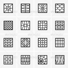 Iron Window Grills - Patterns Decorative