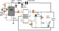 In this article we learn how to make an LED dimmer circuit for enabling a dimming facility to any mains operated LEDs bulb. How LED Bulbs Work We know that […] Diy Electronics, Electronics Projects, Luz Led Diy, Arduino, Computer Lab Rules, Dimmer Light Switch, Light Switches, Led Dimmer, Led Tubes