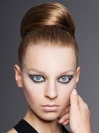 Image result for sleek high bun