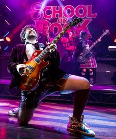 """Actor Alex Brightman recently took the Broadway stage as Dewey Finn in """"School of Rock: The Musical."""" Here, the star shares his own selection of rock 'n' roll songs."""