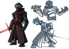 Star wars hype!!! Love Kylo Ren design. Hopefully he is as awesome as he looks in the movie. Cant wait!