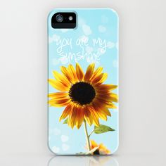 you are my sunshine iPhone Case by Sylvia Cook Photography - $35.00