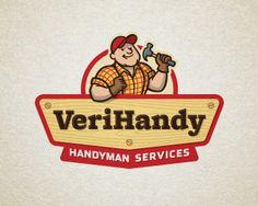 VeriHandy Logo By Devey on Logopond-Really like the linework & shadows