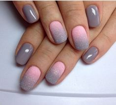 Don't care much for the ombré color but the grey hue...