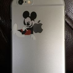 DISNEY's MICKEY MOUSE iPhone 6/6s Case $12 or 2/$20 Cute Mickey Mouse iPhone 6/6s Transparent Case. Item #0098 Accessories Phone Cases