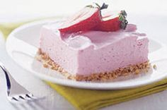Strawberry Margarita Squares - Holidays there is no actual margarita.