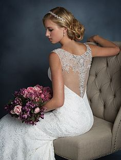 Discover the Alfred Angelo 2524 Bridal Gown. Find exceptional Alfred Angelo Bridal Gowns at The Wedding Shoppe Making A Wedding Dress, V Neck Wedding Dress, Luxury Wedding Dress, Long Sleeve Wedding, Wedding Dress Shopping, Dream Wedding Dresses, Wedding Dress Styles, Wedding Attire, Chic Wedding