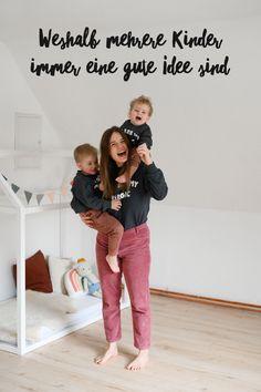 Weshalb mehrere Kinder immer eine gute Idee sind!  Geschwister bekommen | Weitere Kinder bekommen | Schwanger | Schwangerschaft | Wie ist es mit mehreren Kindern? | Geschwister | Bruder | Schwester | Tipps | Erfahrungen | Großfamilie | Familienleben | Baby