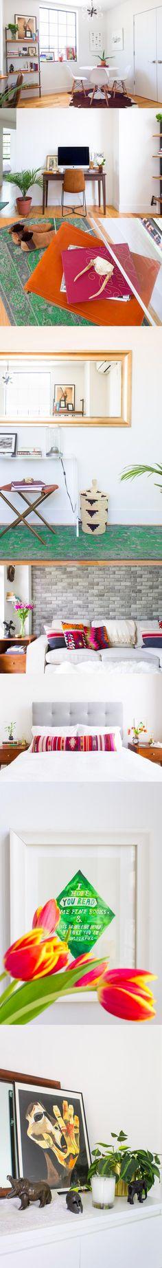 Pareja estrena apartamento con atractivo diseño / http://www.cestchristine.com/