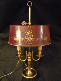 French Tole Bouillotte Lamp | BOUILLOTTE | Pinterest | Antique ...