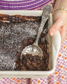 Oh She Glows Fudgy Mocha Pudding Cake
