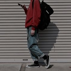 "Grunge Aesthetic: Photo - ""I look like a child these cloths are to big they don't fit"" beau said the problem felt bigger then it was. ""calm down, their just temporary till I take you shopping"" Alice chirped. Source by sturmjger - Aesthetic Fashion, Look Fashion, Aesthetic Clothes, Fashion Outfits, Aesthetic Boy, Aesthetic Grunge, Aesthetic Photo, Fashion Boots, Child Fashion"
