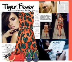 """Tiger Fever"" by izabel-bareicha ❤ liked on Polyvore"