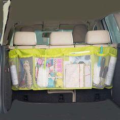 110*34 CM Autostoel Terug Opslag Netje Terug Vouwen Zakka Tassen Kofferbak Organizer Auto Vouwen Bagage tas Gratis Verzending