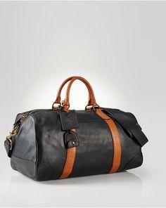 5c2b3d879868 Leather Duffel Bag - New Arrivals Men - RalphLauren.com Leather Duffle Bag