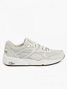 Puma Men's R698 Perf Pack Shoes Vaporous Gray 10.5