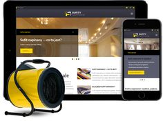 Strona internetowa dla polskiej firmy Sufitypoland http://wezom.pl/services/katalog_towarow_lub_uslug