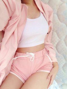 Kawaii Fashion, Cute Fashion, Fashion Outfits, Womens Fashion, Pink Fashion, Pastel Outfit, Pink Outfits, Mode Kawaii, Kawaii Clothes