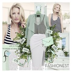 """""""Feel the mint"""" by parisanka ❤ liked on Polyvore featuring BLVD Supply, Dorothy Perkins, Fahrenheit and fashionest"""