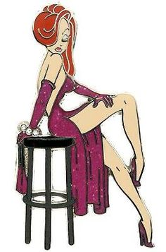 """Jessica Rabbit Military Pin Up 