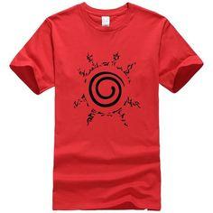 Naruto Uzumaki T shirt Sasuke Cool Anime Cartoon Gift Childrens Tee Boys Kids