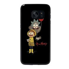 IT RICK AND MORTY-samsung-galaxy-S7-edge-case-cover Samsung Galaxy S7 Edge Case - Best Custom Phone Cover Cool Personalized Design – Favocase