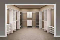 Closet Maid Master Closet designed by OrganizationalSpecialists.com