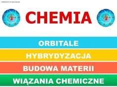 CHEMIA ORBITALE HYBRYDYZACJA BUDOWA MATERII BUDOWA MATERII>