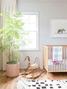 Kids room / Chambre d'enfant aux couleurs naturelles