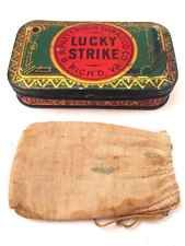 Vintage Tobacco Tin: Just Suits Cut Plug Buchanan