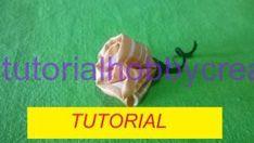 Tutorial per realizzare una rosellina in tessuto