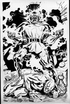 The Marvel Age of Comics Fantastic Four Villains, Sketches, Kirby, Comics Artwork, Comic Artist, Artist, Comic Book Pages, Bruce Timm, Jack Kirby Art