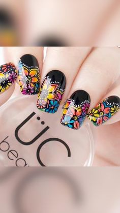 Nail Art Designs, Flower Nail Designs, Acrylic Nail Designs, Mexican Nails, Nail Art Halloween, Burgundy Nails, Luxury Nails, Elegant Nails, Best Acrylic Nails