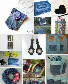 40 Incredible Ways To Repurpose Old Jeans - DIY Gift World