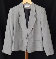 Women's Clothing Reasonable Worthington Womens Dark Navy 100% Polyester Zipper Front Blazer Jacket Size 8p Suits & Suit Separates