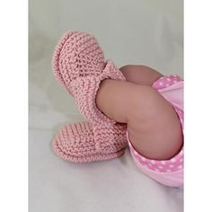 This is my Baby's First Booties knitting pattern. These fantastic booties are really quick and easy to make and look great on any newborn baby . The knitting pattern provides full instructions for 4 sizes XS, (premature - tiny baby), S (small newborn) M,(average newborn) and L (big newborn) and there are lots of step by step photos to help you throughout. This knitting pattern is available to buy here as an immediate pdf download.